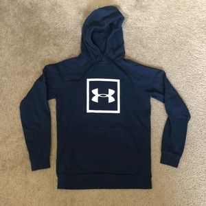 Under Armour Rival Logo Hoodie Men's Small